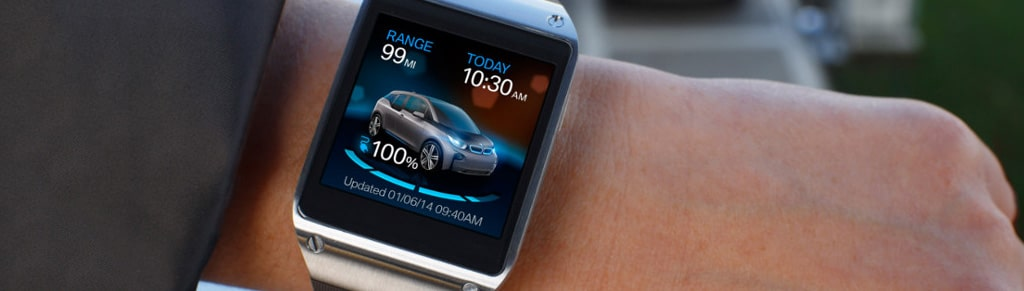 BMW i Remote App : La BMW i3 se pilote à l'aide de la