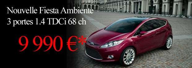 Ford FIESTA 9990 Euros