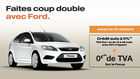 coup double ford focus