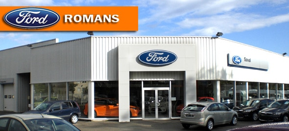 Le garage ford romans ford grim auto savab saval for Garage baccara auto montpellier