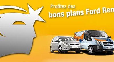 Offre Location: Profitez des bons plans Ford Rent !