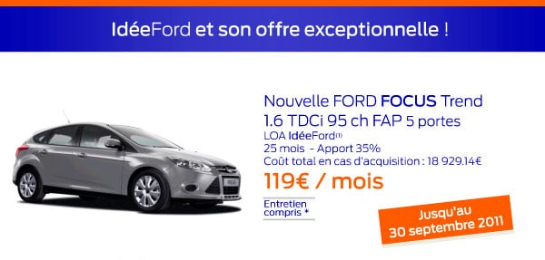 Id eford et son offre incontournable ford grim auto for Garage ford saval valence