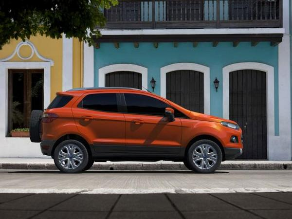 Salon new delhi 2012 ford d voile l 39 ecosport 2 ford for Garage ford saval valence