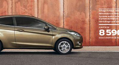 Ford Fiesta: Que serait la beauté sans l'intelligence ?