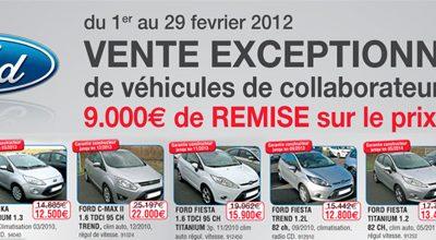 Ford occasion Montpellier : Vente exceptionnelle de véhicules de collaborateur