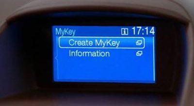La nouvelle Ford Fiesta inaugure MyKey