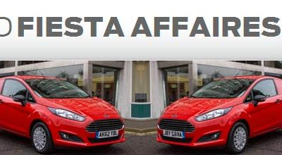Nouvelle Ford Fiesta Affaires 2013