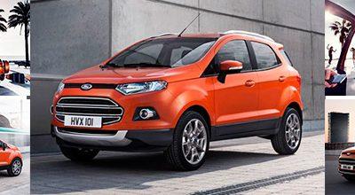 Découvrez le Ford Ecosport