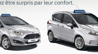 Offre AUTO ECOLE FORD