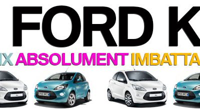 4 FORD KA,  4 PRIX ABSOLUMENT IMBATTABLES