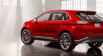 Le Ford Edge Concept annonce un nouveau SUV pour l'Europe