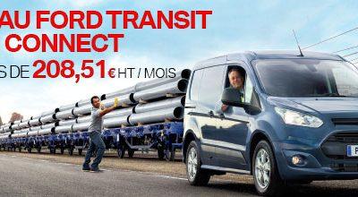Nouveau Ford transit Connect à 208,51€ HT/mois