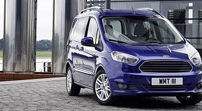Ford Tourneo Courier : un petit nouveau dans la famille Tourneo