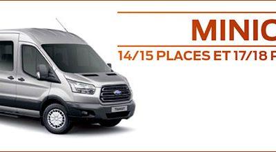 Ford lance un Transit Minicar 18 places plus confortable, plus sûr et plus économique