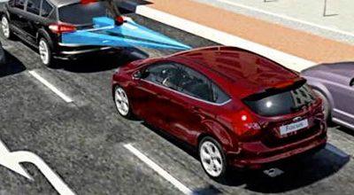 Ford teste son système de freinage automatique à Paris