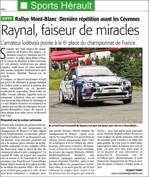 Fr d ric raynal agent ford faiseur de miracles for Garage jaguar montpellier