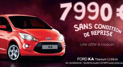 FORD KA A 7.990€ SANS CONDITION DE REPRISE