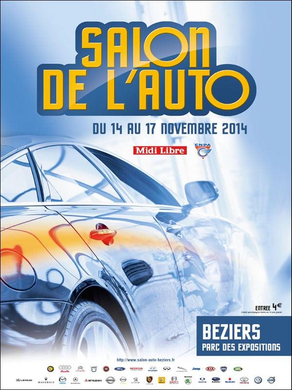 Affiche salon auto 2014 2 groupe grim ford - Salon auto montpellier ...