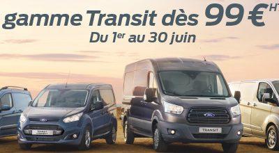 La gamme Transit dès 99€/mois*