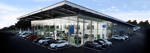 Nouveau ford montpellier plan d acces for Garage grimm montpellier