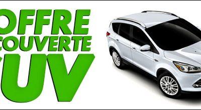 L'OFFRE DÉCOUVERTE SUV