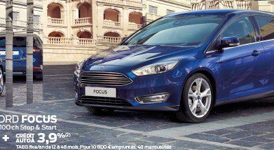 Nouvelle Ford Focus à partir de 16.390€* + crédit auto à 3.9%