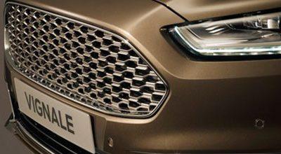 Ford Vignale Mondeo signe les débuts des véhicules haut de gamme de Ford et de leur expérience client personnalisée
