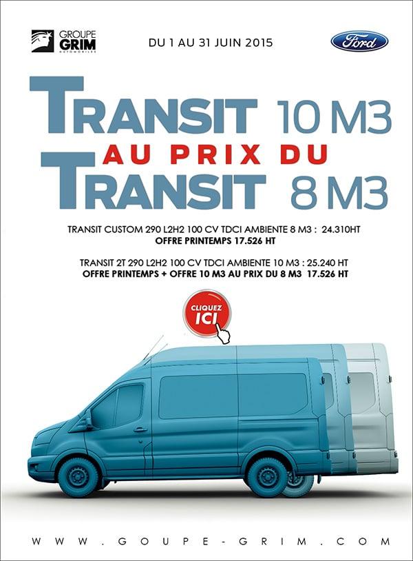le transit 10m3 au prix du transit 8m3 grim auto savab saval. Black Bedroom Furniture Sets. Home Design Ideas