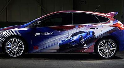 La nouvelle Ford GT et une Focus RS spécialement customisée pour Forza