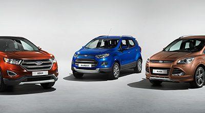 Ford lancera 5 nouveaux SUV en Europe dans les trois ans