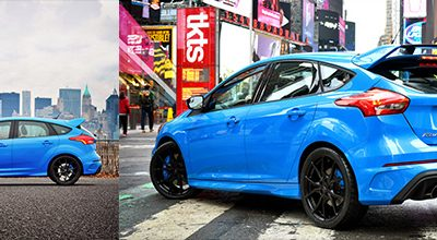 Nouvelle Ford Focus RS : 0 à 100 Km/h en 4,7 secondes et 266 Km/h