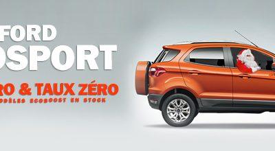 Ford ECOSPORT : TVA Zéro + Taux Zéro