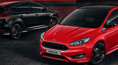 La Ford Focus désormais disponible dans les versions vitaminées Red Edition & Black Edition