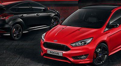 La Ford Focus désormais disponible dans les versions vitaminées Red Edition & Black Edition