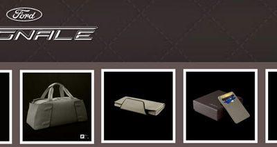 Découvrez la collection Vignale, des accessoires somptueux inspirés par l'univers Ford Vignale.
