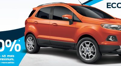 LES TEMPS FORD : FORD ECOSPORT
