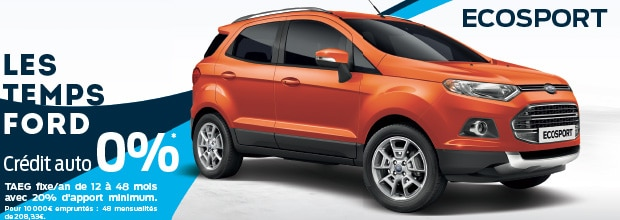 Les temps ford ford ecosport ford grim auto savab for Garage ford saval valence