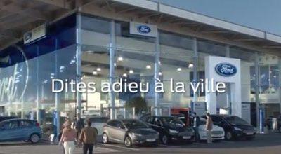 Nouvelle publicité Ford France à Montpellier