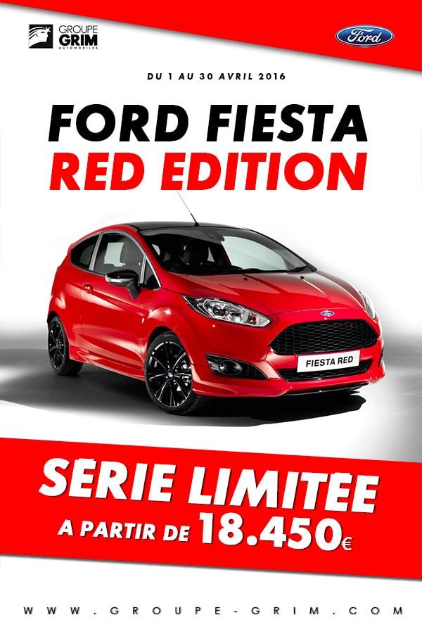 fiesta red-edition