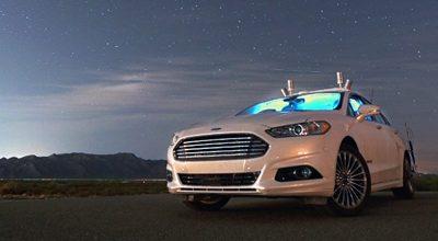 Les véhicules autonomes Ford