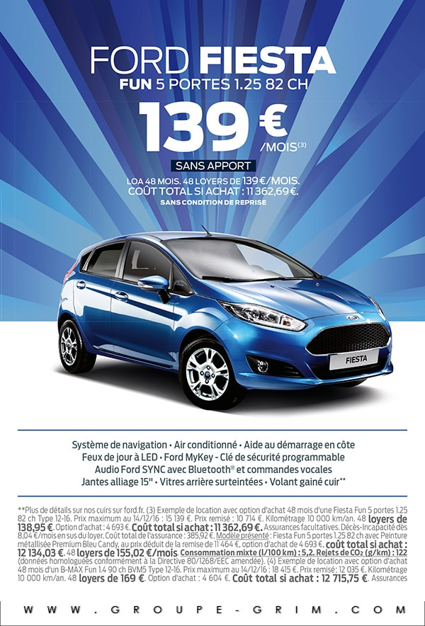 la ford fiesta fun 5 portes 82 ch est 139 moisford montpellier ford valence ford. Black Bedroom Furniture Sets. Home Design Ideas