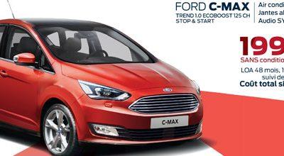 Ford C-MAX à partir de 199€/mois