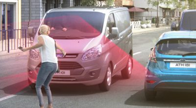 Sécurité, Ford Utilitaires lance le système de freinage d'urgence