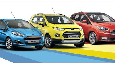 Crédit auto à 0% sur toute la gamme Ford