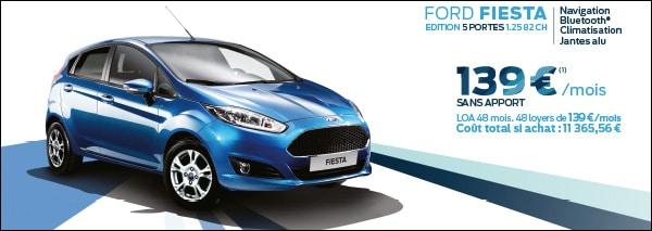 Loa Sans Apport >> Ford Fiesta 139 Mois Sans Apport Sans Condition