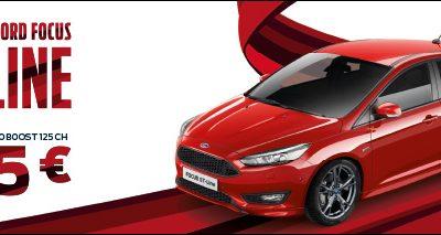 Nouvelle Ford Focus ST-LINE à partir de 215€/mois