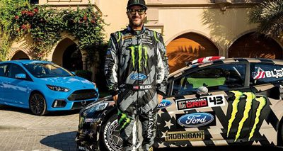 Gymkhana : Ken Block brutalise sa Ford Focus RS RX dans une zone industrielle !