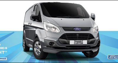 OFFRE ENTREPRISE : FORD TRANSIT CUSTOM A 199€/MOIS