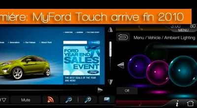 Avant premiére: MyFord Touch arrive fin 2010 !