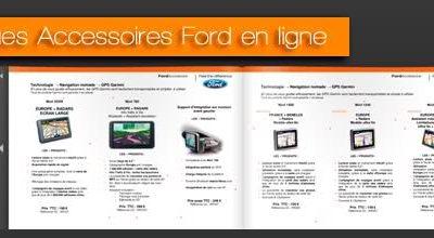 Catalogues Accessoires Ford du Groupe GRIM en ligne